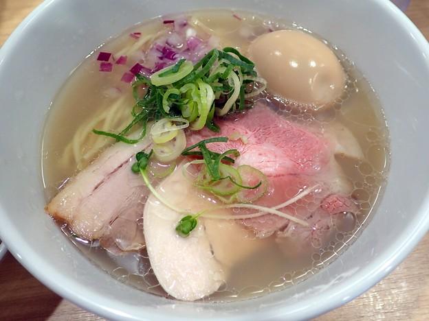 味玉貝麺@みかわ・世田谷区下北沢