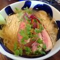 Photos: 鶏節と煮干しの冷たいらぁ麺・中盛@yaguーnoodle・江東区住吉