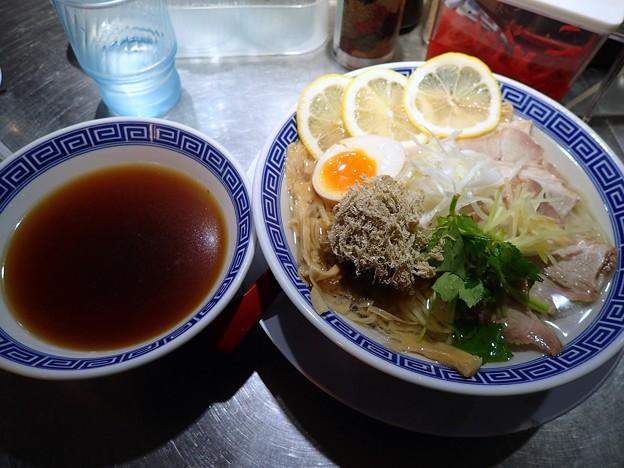 あごだし冷やしつけ麺@なおじ東陽町店・江東区東陽町