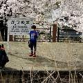 旧勝沼駅にて