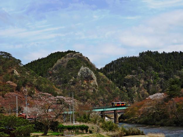 水郡線・矢祭山駅付近