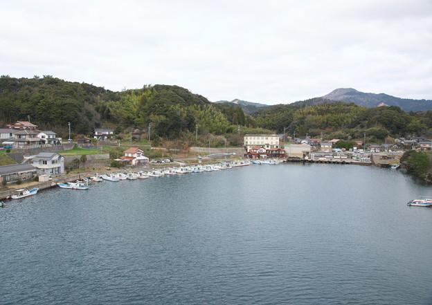 西郷湾、登具湾・西郷東大橋南詰めからの眺め(2)