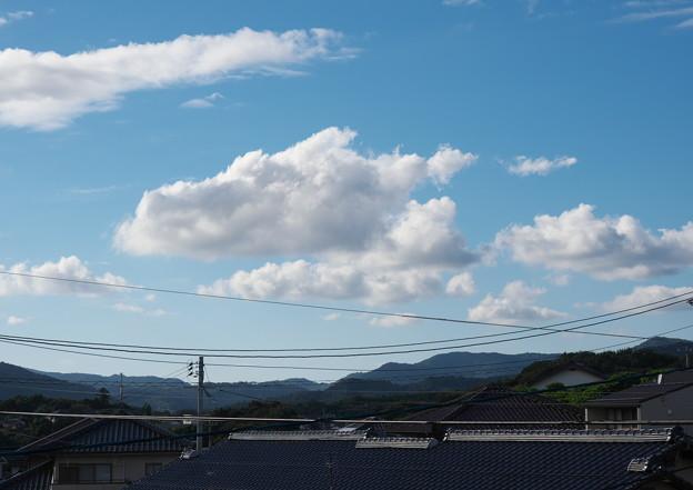 自室窓から、初秋の空・2(9月4日)