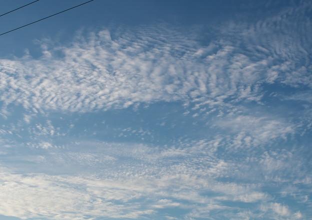自室窓から、初秋の雲・2(9月4日)