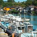 港の風景、天神橋西詰からの眺め