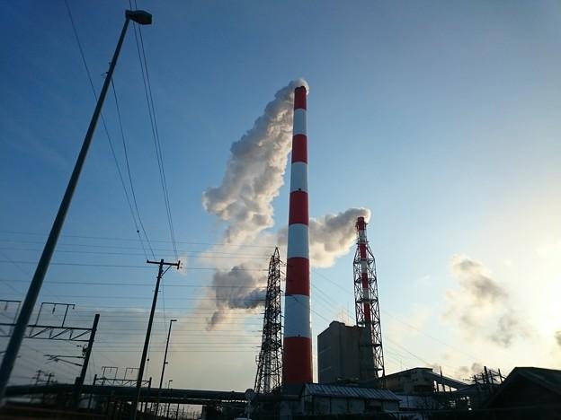 Photos: 2月26日(金)の煙突