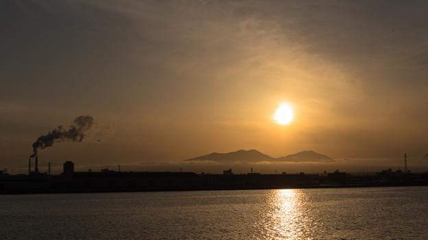 5月12日(水)の夕焼け