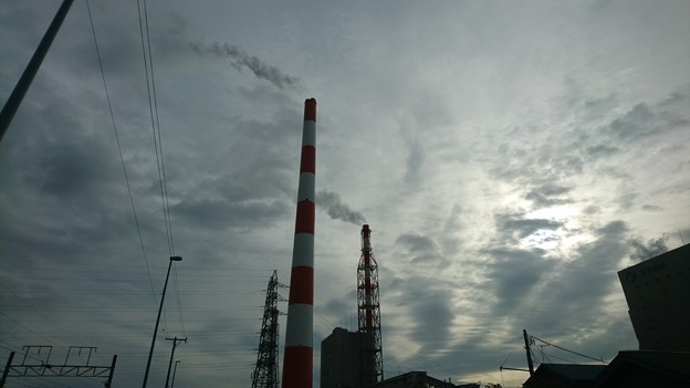 9月17日(金)の煙突