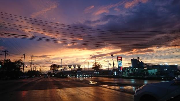 9月30日の夕焼け