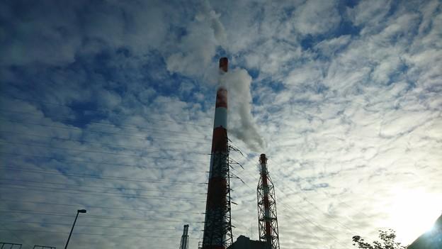 10月14日(木)の煙突