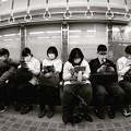 Instagram(°°)今夜の御堂筋線阪急電車能勢電車6