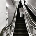 Instagram(°°)今夜の御堂筋線阪急電車能勢電車7