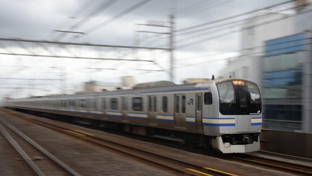 Photos: 小岩駅通過