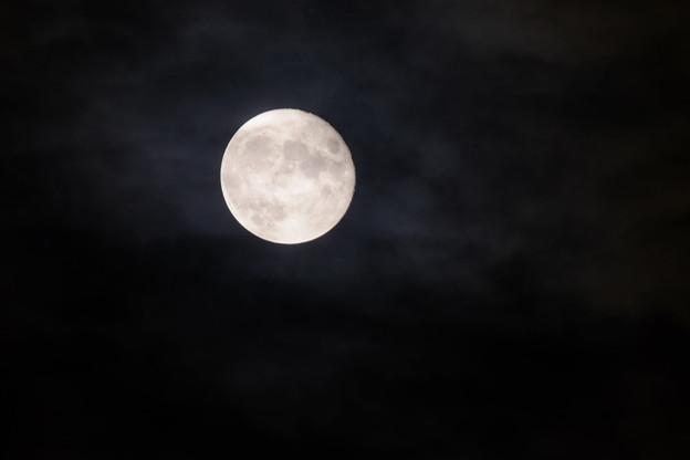 Amazon激安望遠レンズによる月