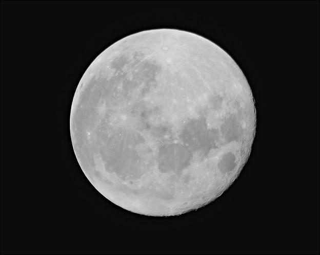 Amazon500mmF6.3望遠レンズによる月