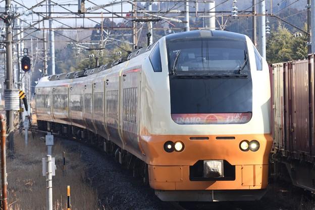 Photos: E253系U101編成臨時快速那須塩原行き