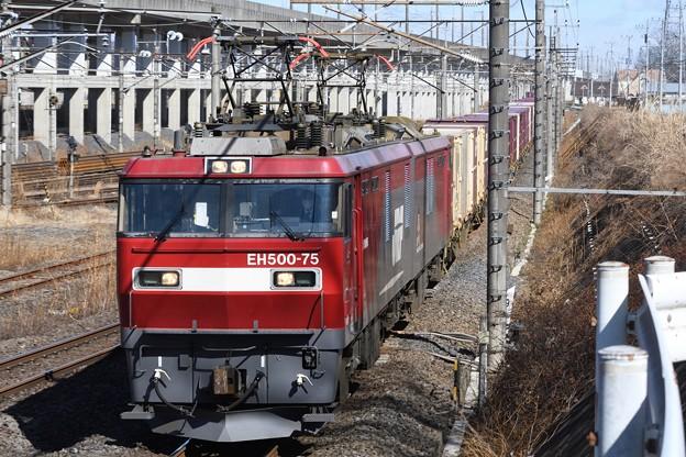 Photos: EH500-75号機牽引3086レ