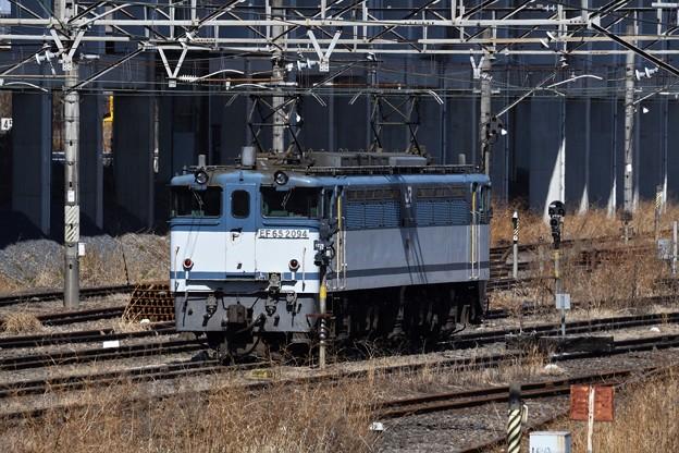 Photos: EF65白プレート2094号機