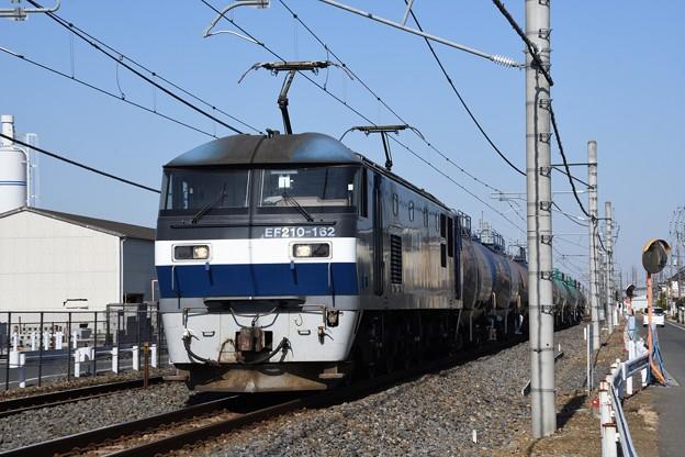 EF210-162牽引8586レ