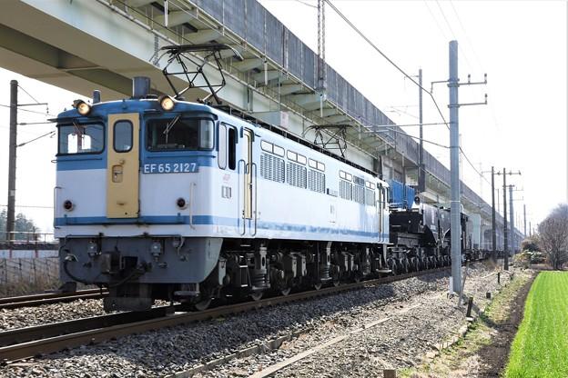EF65 2127カラシ牽引シキ801