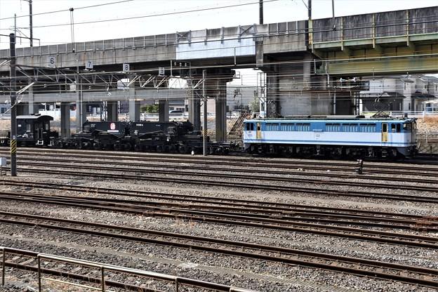 EF65 2127+シキ801宇都宮貨物(タ)到着