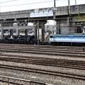 Photos: EF65 2127+シキ801宇都宮貨物(タ)到着