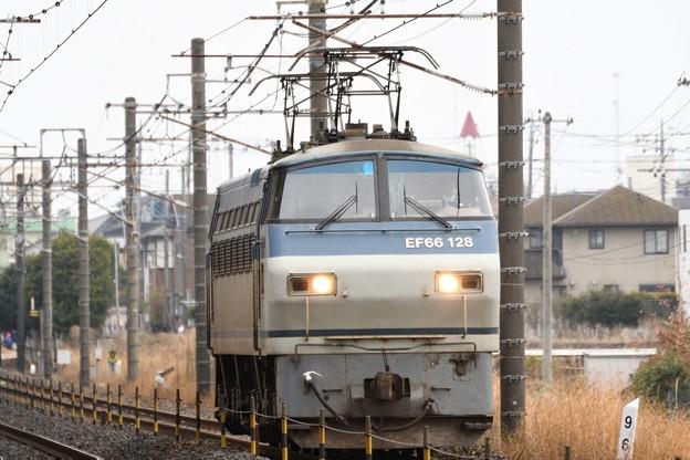 EF66 128単機4093レ
