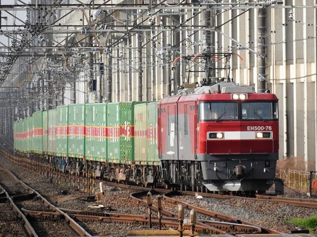 EH500-76牽引福山通運レールエクスプレス