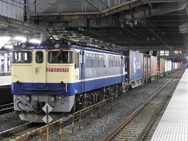 EF65 2070牽引4073レ