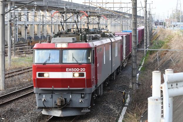 EH500-20牽引4088レ