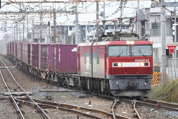 EH500-32牽引3050レ