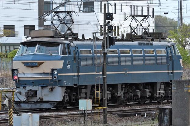 Photos: 宇都宮貨物(タ)にEF66 27号機