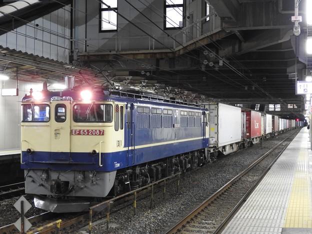 EF65 2087牽引4093レ