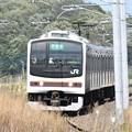 Photos: 宇都宮線205系日光線色
