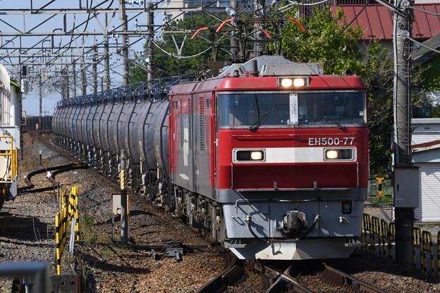 金太郎77号機牽引8072レ栗橋通過