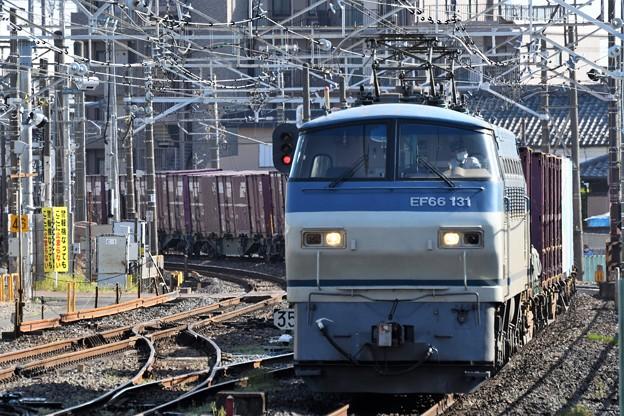 Photos: EF66 131牽引4093レ久喜通過