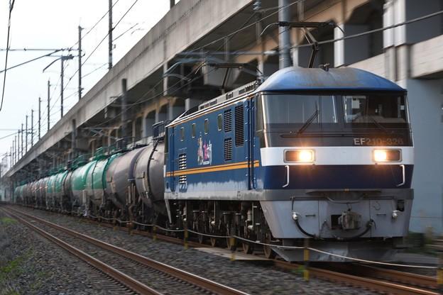 桃太郎326号機牽引8680レ