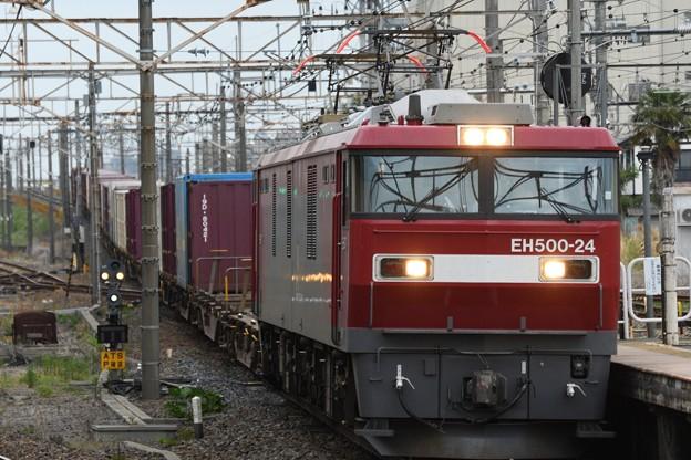 金太郎24号機牽引4088レ小金井通過