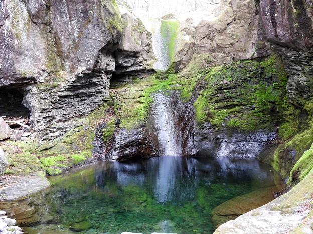 幻のおしらじの滝