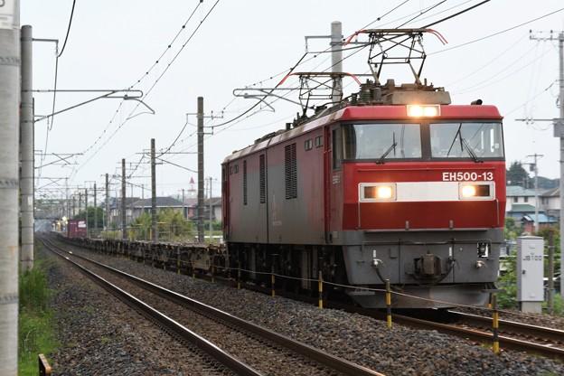 Photos: EH500-13牽引8063レ