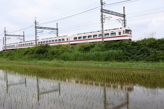 東武350型臨時特急きりふり284号