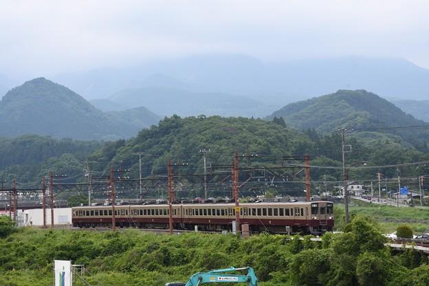 東武日光を発つ6050型リバイバル色南栗橋行き