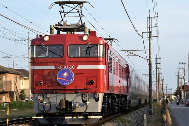 EF81 80牽引カシオペア紀行盛岡行き