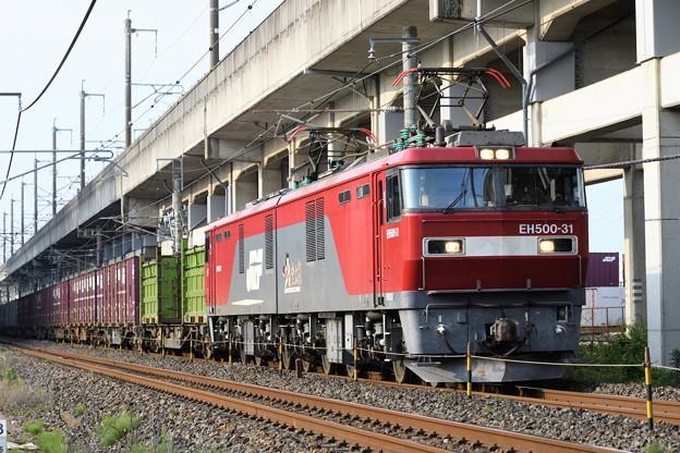 EH500-31牽引3050レ