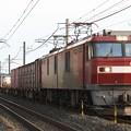 Photos: EH500-18牽引8063レ
