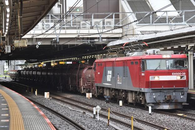 EH500-38牽引安中貨物大宮11番入線