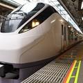 E657系特急ひたち18号東京9番発車