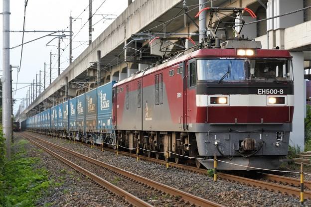 Photos: EH500-8牽引トヨタロングパスエクスプレス4076レ