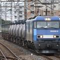 EH200-6号機牽引8763レ