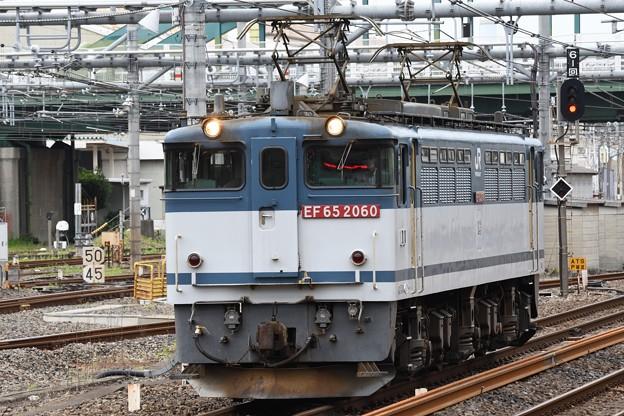 EF65 2060単機8876レ大宮6番通過